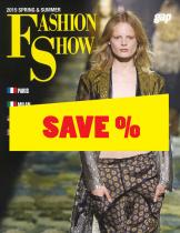 Fashion Show S/S 2015 Paris/Milan/NY/London