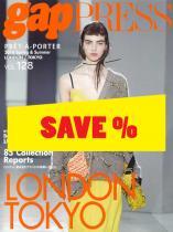 Gap Press Collections no. 128 London/ Tokyo S/S 2016