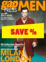 Gap Press Men no. 48 Milan/London