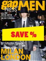 Gap Press Men no. 52 Milan/London