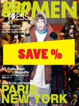 Gap Press Men no. 53 Paris/New York
