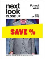 Next Look Close Up Men Formal no. 02 A/W 17/18