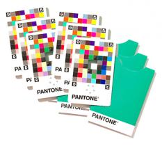 Pantone Color Match Card package of 25 cards
