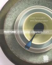 PANTONE View Home + Interior S/S 2021