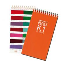 RAL K1 Booklet with 213 RAL CLASSIC colours