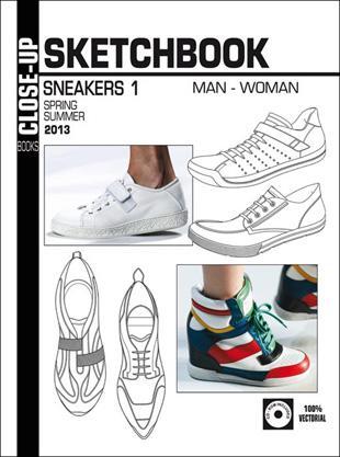 Close-Up Sketchbook Sneakers Men/Women, Abonnement Deutschland
