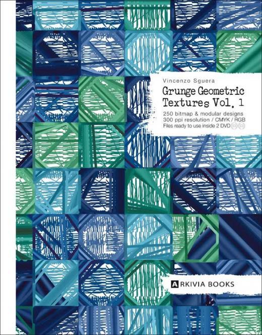Grunge Geometric Textures Vol. 1 incl. DVD