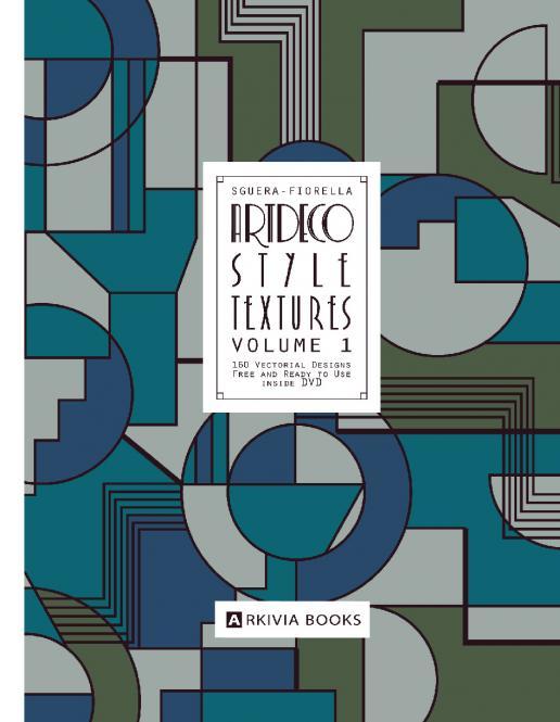 Artdeco Style Textures Vol. 1 incl. DVD