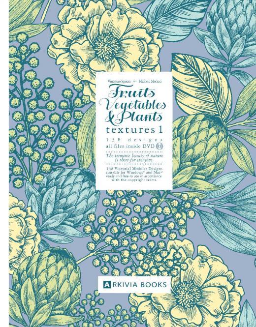 Fruits, Vegetables & Plants Textures Vol. 1 incl. DVD