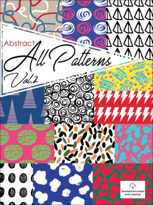 GraphiCollection Abstract AllPatterns Vol. 2