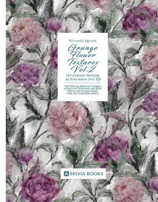 Grunge Flower Textures Vol. 2 incl. DVD