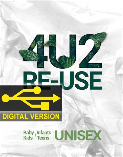 4U2RE-USE Trendbook Digital Version Baby/Infants/Kids/Teens Unisex
