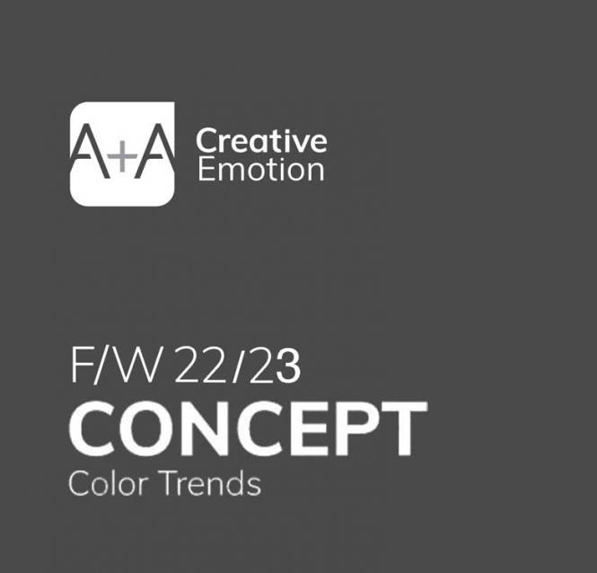A + A Concept Color Trends, Abonnement Welt Luftpost