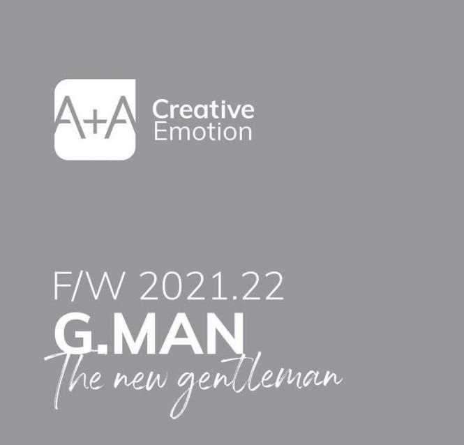 A+A Gentlemen - Men's Color Trends, Abonnement Welt Luftpost