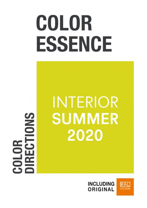 Color Essence Interior RAL S/S 2020