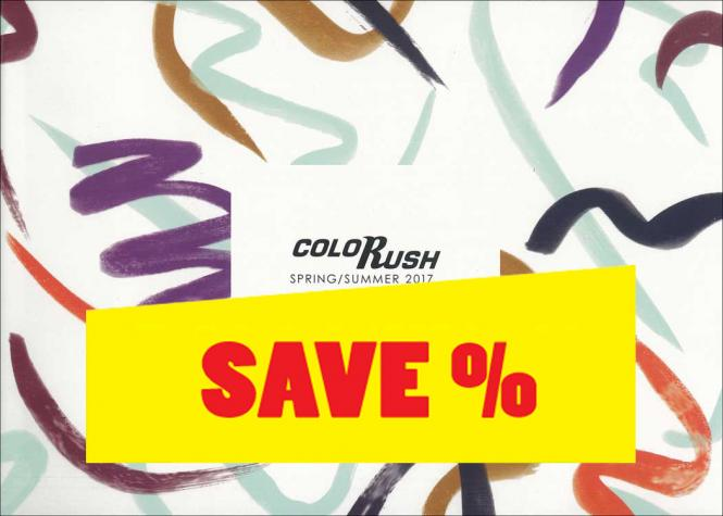 Colorush S/S 2017 incl. USB Stick