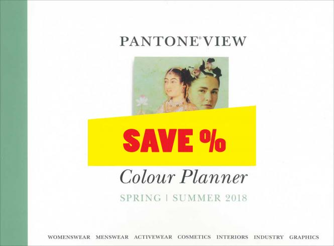 Pantone View Colour Planner S/S 2018 incl. DVD