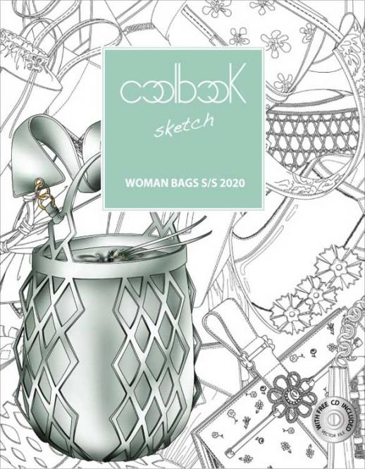 Coolbook Sketch Woman Bags, Abonnement Deutschland