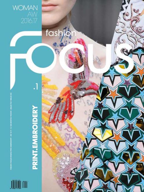 Fashion Focus Woman Print. Embroidery Abonnement Deutschland