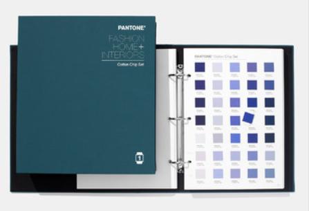 PANTONE Fashion & Home Cotton Chip Set + 210 new colors
