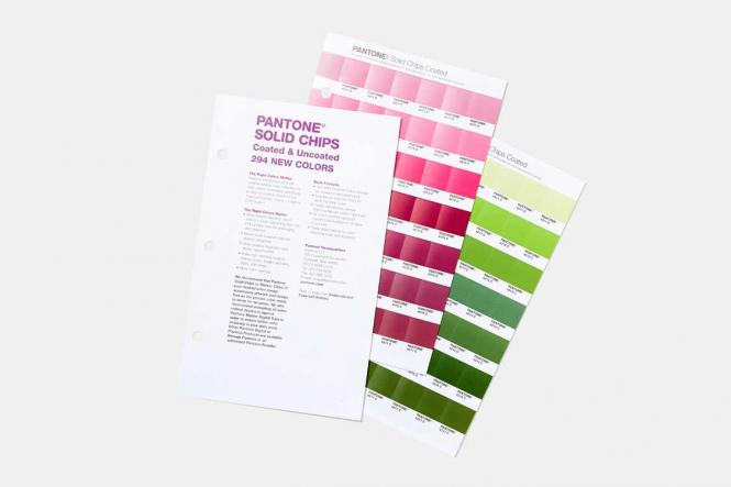 PANTONE Solid Chips CU coated & uncoated Supplement