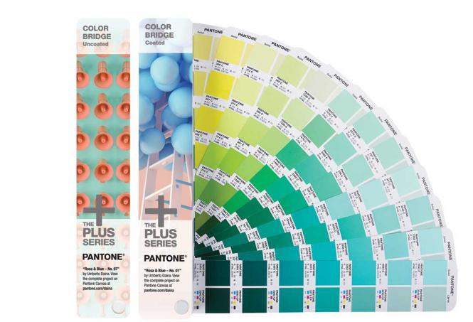 PANTONE PLUS Color Bridge CU coated & uncoated set
