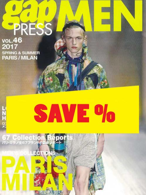 Gap Press Men no. 46 Paris/Milan