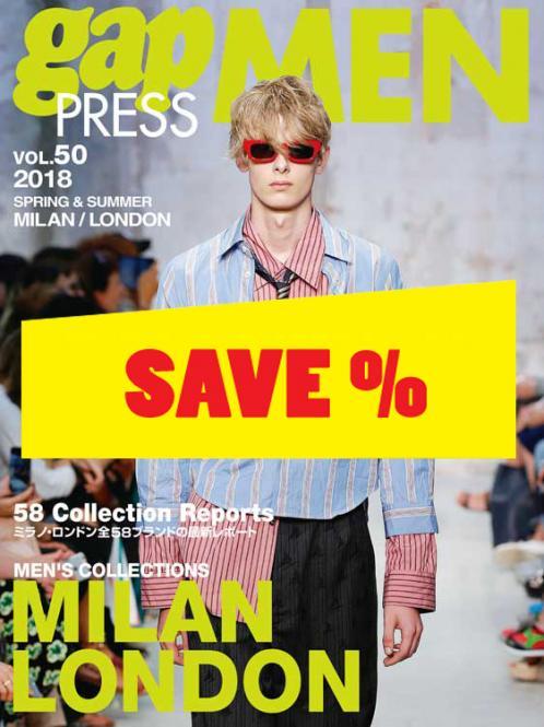 Gap Press Men no. 50 Milan/London