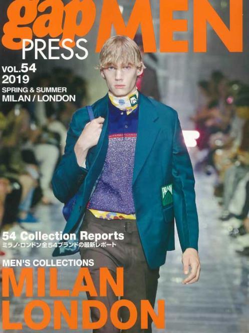 Gap Press Men no. 54 Milan/London