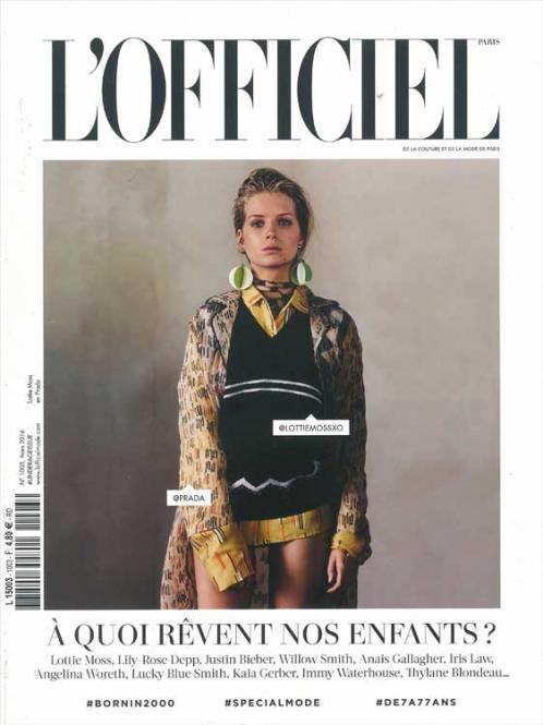 L' Officiel Haute Couture, Abonnement Welt Luftpost