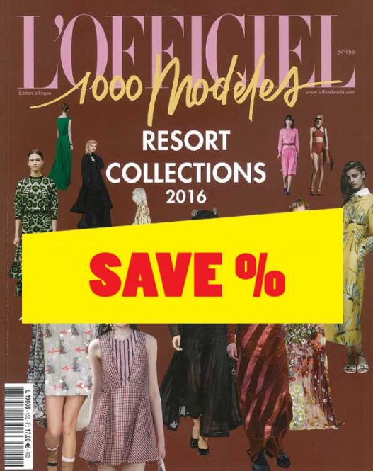 L'Officiel 1.000 Models no. 155 Resort Collections