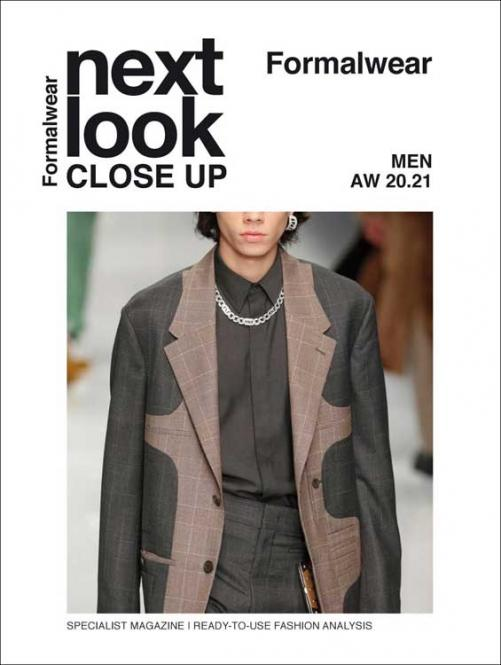 Next Look Close Up Men Formal Abonnement Welt Luftpost