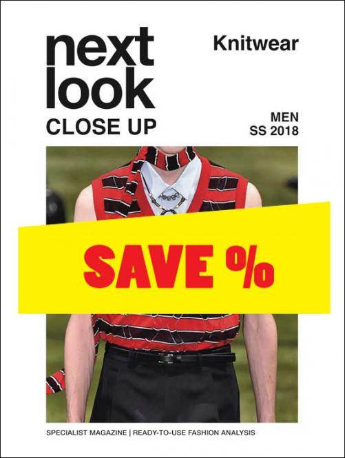 Next Look Close Up Men Knitwear no. 03 S/S 2018