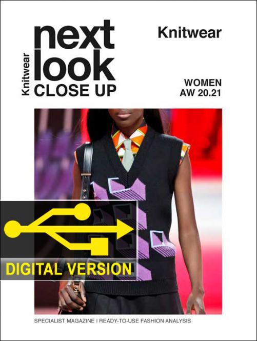 Next Look Close Up Women Knitwear Digital - Abonnement Europa