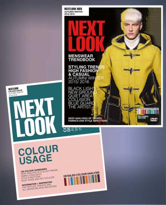 Next Look Menswear/Color Usage Package, Abonnement Europa