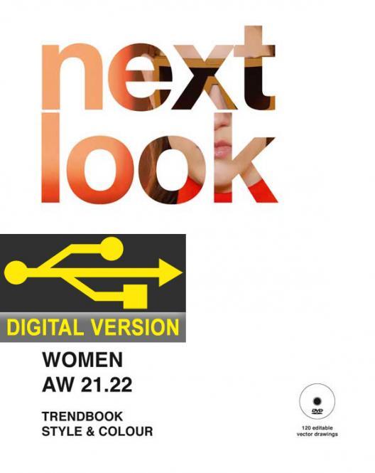 Next Look Womenswear Fashion Trends Styling Digital Version, Auslandsabonnement Luftpost