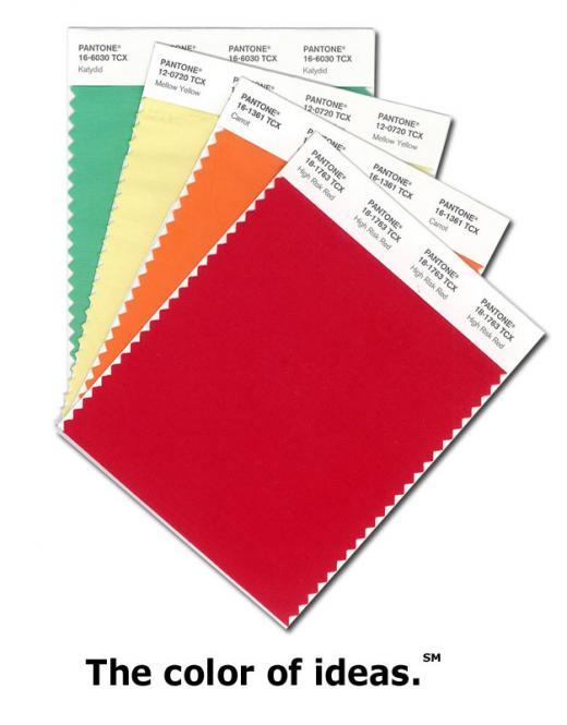 PANTONE Smart Color Swatch Card TCX