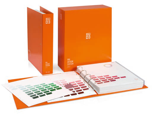 RAL D3 Colour Toolbook - Removable colour chips in all 1.825