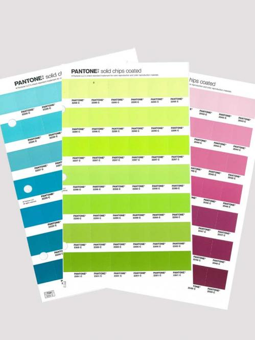 PANTONE PLUS solid chips coated Replacement Page 2014