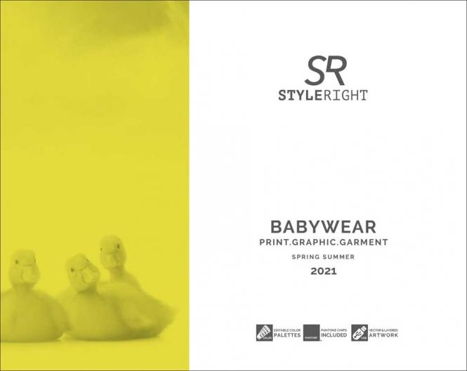 Style Right Babywear Trendbook S/S 2021 incl. USB