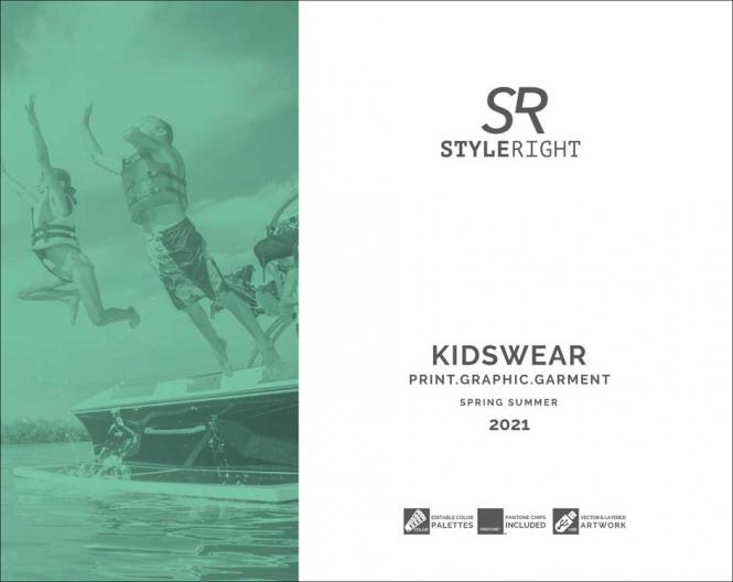 Style Right Kidswear Trendbook S/S 2021 incl. USB