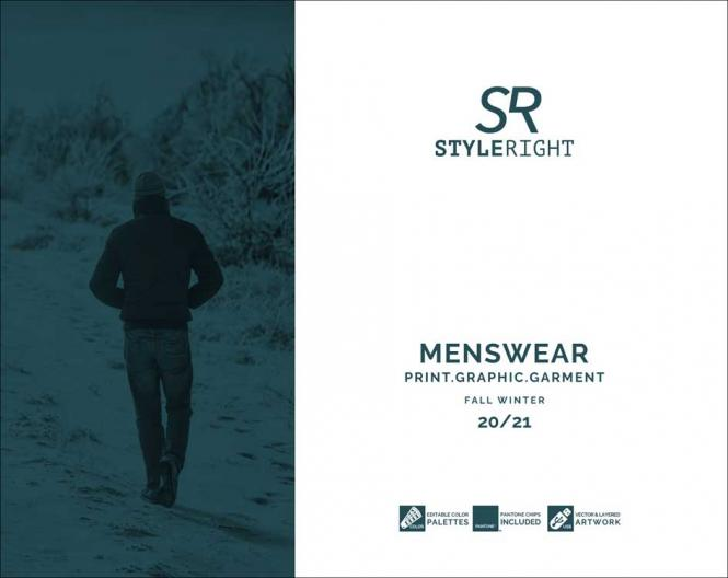 Style Right Men's Trend Book, Subscription World Airmail
