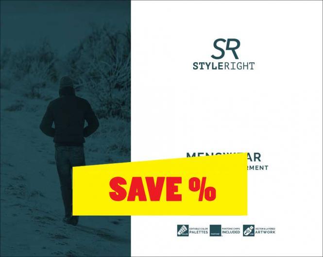 Style Right Menswear Trendbook A/W 2020/2021 incl. USB