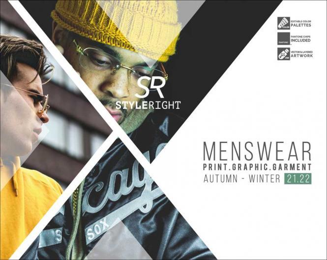 Style Right Menswear Trendbook A/W 2021/2022 incl. USB