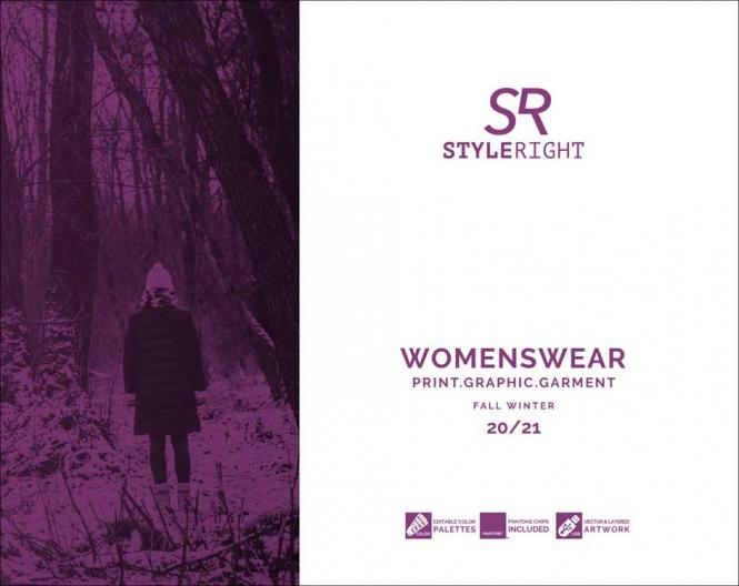 Style Right Women's Trend Book, Subscription World Airmail