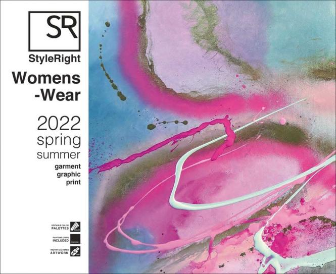 Style Right Womenswear Trendbook S/S 2022 incl. USB