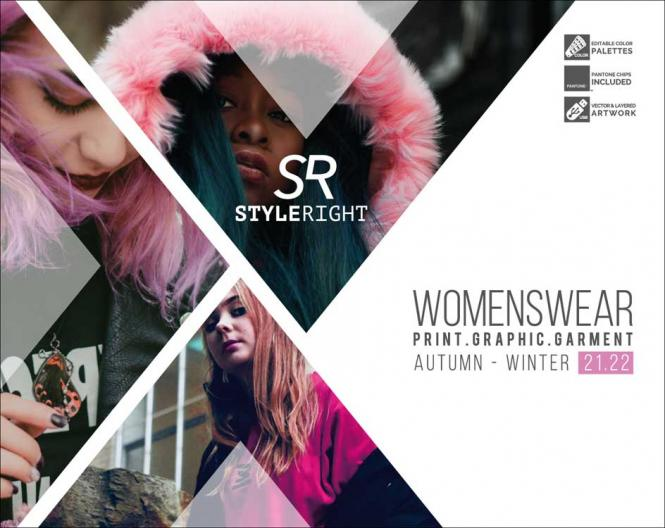 Style Right Womenswear Trendbook A/W 2021/2022 incl. USB