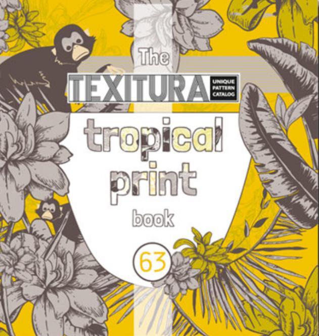 Texitura no. 63 The Tropical Print Book