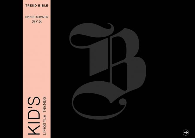 Trend Bible Kid's Lifestyle Trends S/S 2018 - eBook
