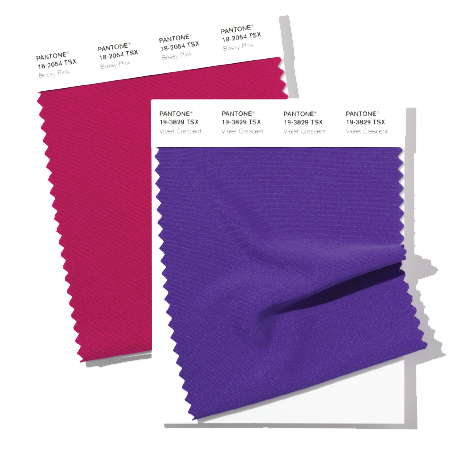 PANTONE Polyester Swatch Card TSX